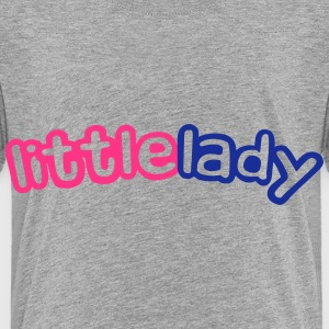 Little Lady T-shirts - Børne premium T-shirt