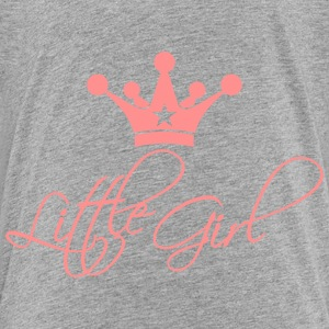 Little Girl Princess Design T-Shirts - Kinder Premium T-Shirt