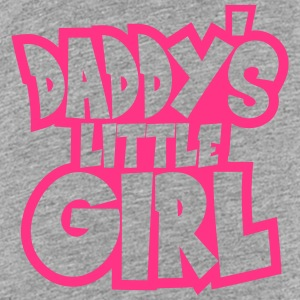 Daddys Little Girl Logo Design T-Shirts - Kinder Premium T-Shirt