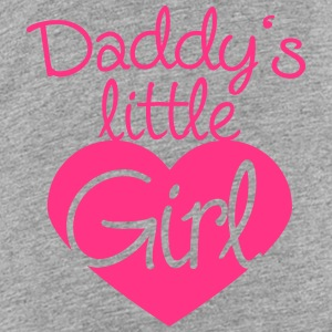 Daddys Little Girl Heart Logo Shirts - Kids' Premium T-Shirt