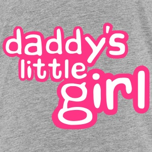 Daddys Little Girl Design T-shirts - Premium-T-shirt barn