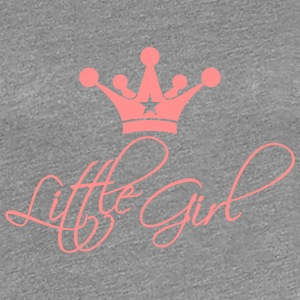 Little Girl Princess Design Camisetas - Camiseta premium mujer