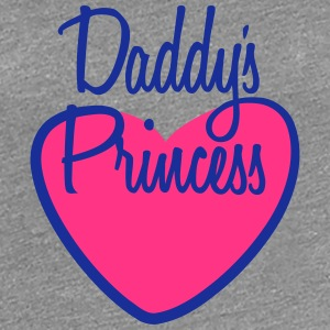 Daddys Princess T-Shirts - Frauen Premium T-Shirt