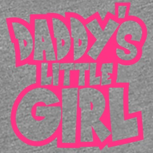 Daddys Little Girl Logo Design T-Shirts - Frauen Premium T-Shirt