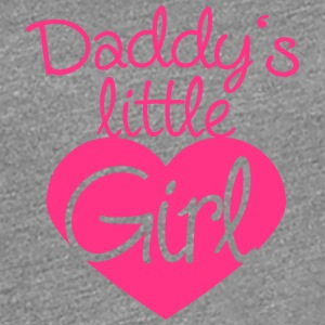 Daddys Little Girl Heart Logo T-Shirts - Women's Premium T-Shirt