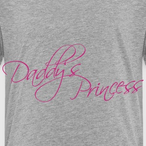 Daddys Princess Design Shirts - Kids' Premium T-Shirt