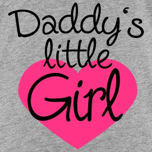 Daddys Little Girl Heart Logo Shirts - Kinderen Premium T-shirt