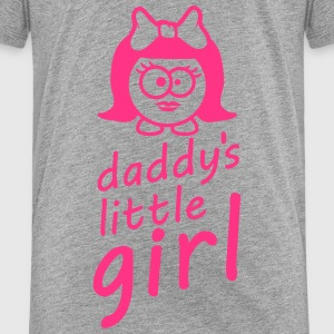 Daddys Little Baby Girl T-Shirts - Kinder Premium T-Shirt