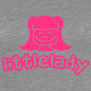 Little Lady Girl T-shirts - Dame premium T-shirt