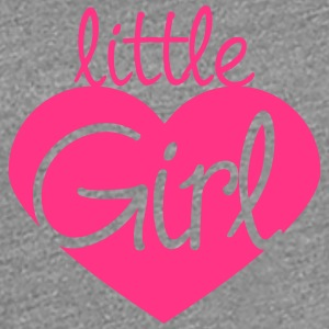 Little Girl Heart Logo T-skjorter - Premium T-skjorte for kvinner