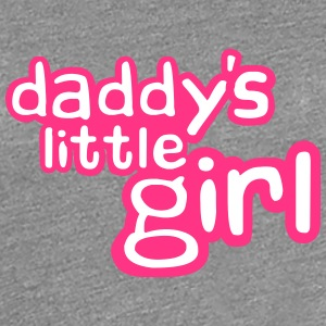 Daddys Little Girl Design T-Shirts - Frauen Premium T-Shirt
