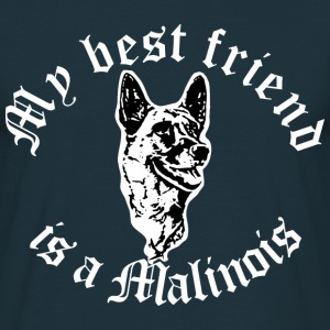 Best friend malinlois T-Shirts - Männer T-Shirt