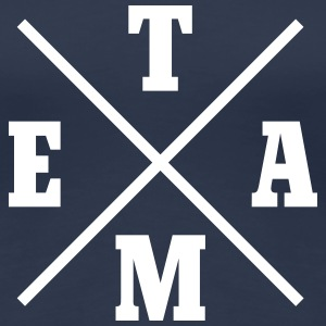 Team Cross T-shirts - Premium-T-shirt dam