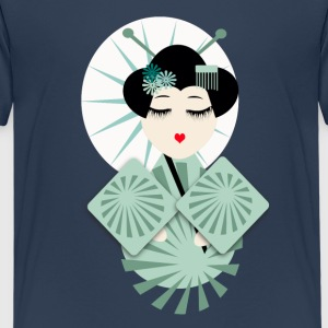 geisha T-shirts - Teenager premium T-shirt