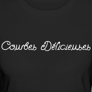 Courbes Delicieuses (1c) Tee shirts - T-shirt Bio Femme