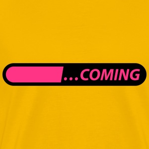coming loading starting Tee shirts - T-shirt Premium Homme