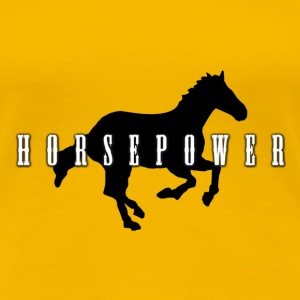 horsepower T-Shirts - Frauen Premium T-Shirt