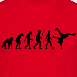 Evolution Breakdance - Männer T-Shirt