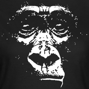 Gorilla Face T-Shirts - Frauen T-Shirt