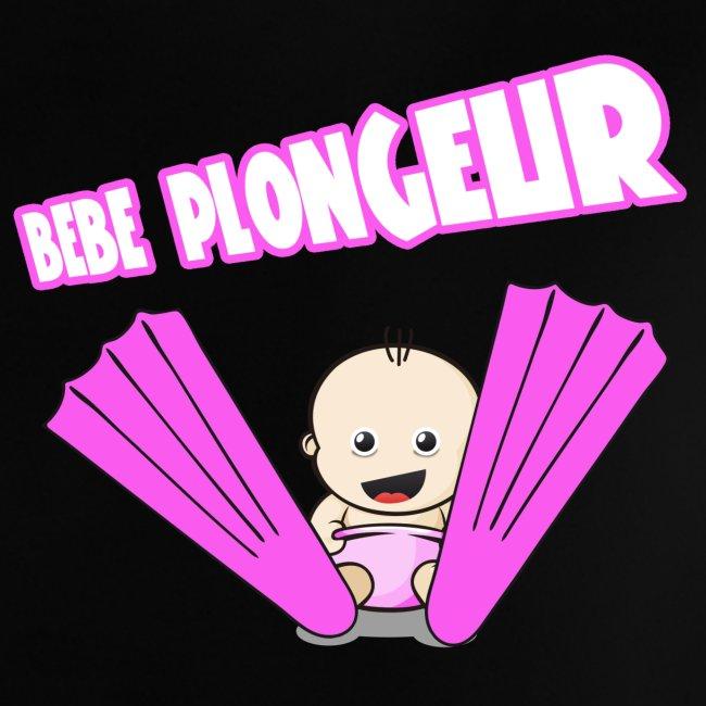BB Plongeur ! Fille Noir