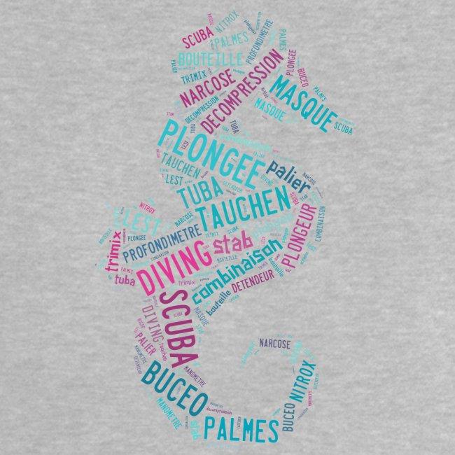 T-shirt Hippotag Gris