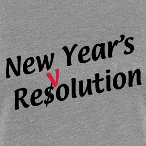 newyearresolution T-Shirts - Women's Premium T-Shirt