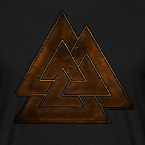 Leaser Valknut Viking.png Tee shirts - T-shirt Homme