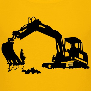 excavator Shirts - Teenage Premium T-Shirt