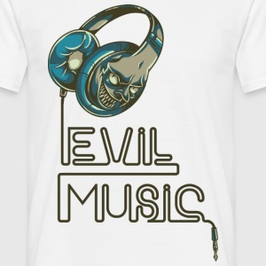 Evil Music - bananaharvest T-Shirts - Men's T-Shirt