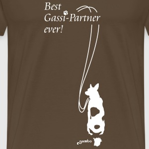Best Gassi-Partner ever! T-Shirts - Männer Premium T-Shirt