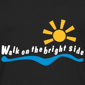 walk on the bright side Long sleeve shirts - Men's Premium Longsleeve Shirt