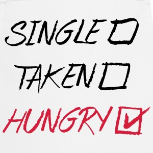 Single Taken Hungry, EUshirt, www.eushsirt.com Kookschorten - Keukenschort