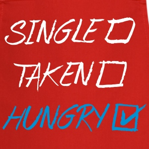 Single Taken Hungry, EUshirt, www.eushsirt.com Tabliers - Tablier de cuisine