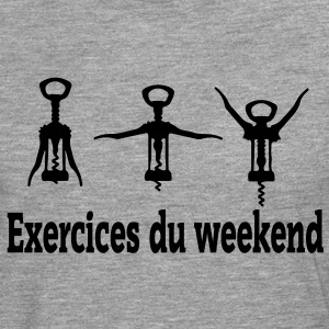Exercices Weekend - T-shirt manches longues Premium Homme