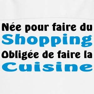 shopping vs cuisine Tabliers - Tablier de cuisine