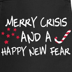 Merry Crisis and a Happy New Fear, www.eushirt.com Schürzen - Kochschürze