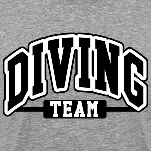 Diving Team T-shirts - Herre premium T-shirt
