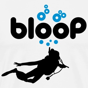 Diving: bloop T-Shirts - Men's Premium T-Shirt