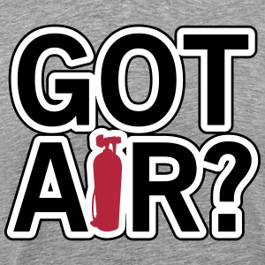 Diving: Got air? T-Shirts - Men's Premium T-Shirt