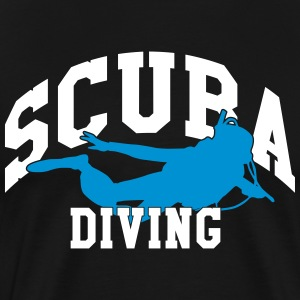 Scuba diving T-skjorter - Premium T-skjorte for menn