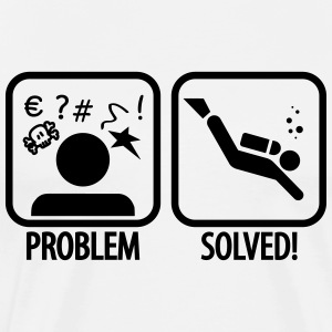 Diving: Problem - Solved! T-Shirts - Men's Premium T-Shirt