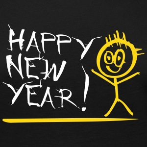 Happy New Year - Frauen Premium Langarmshirt