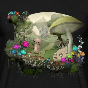 Teddy and the shrooms T-Shirts - Männer T-Shirt