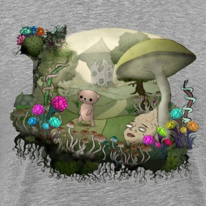 Teddy and the shrooms T-Shirts - Männer Premium T-Shirt