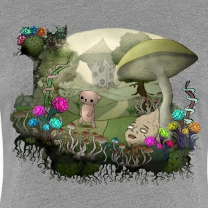 Teddy and the shrooms T-Shirts - Frauen Premium T-Shirt