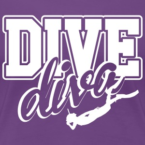 Diving Girl T-Shirts - Women's Premium T-Shirt