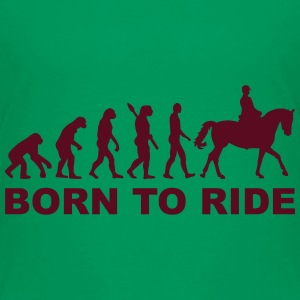 Evolution Reiten T-Shirts - Kinder Premium T-Shirt