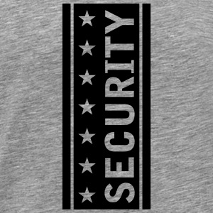 Stars Security Logo T-shirts - Mannen Premium T-shirt