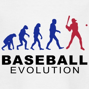 Baseball evolution Shirts - Kids' T-Shirt