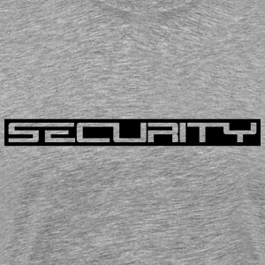 Security Style Design T-shirts - Herre premium T-shirt